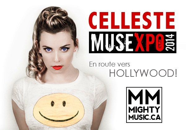 La belle et talentueuse Celleste : En route vers Hollywood !!!