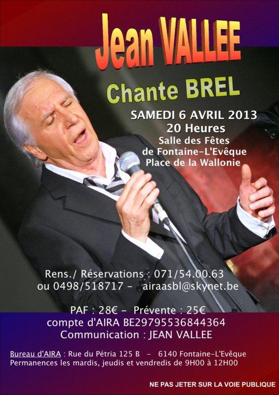 Un grand de la chanson belge s'en est allé... Adieu Jean Vallée !