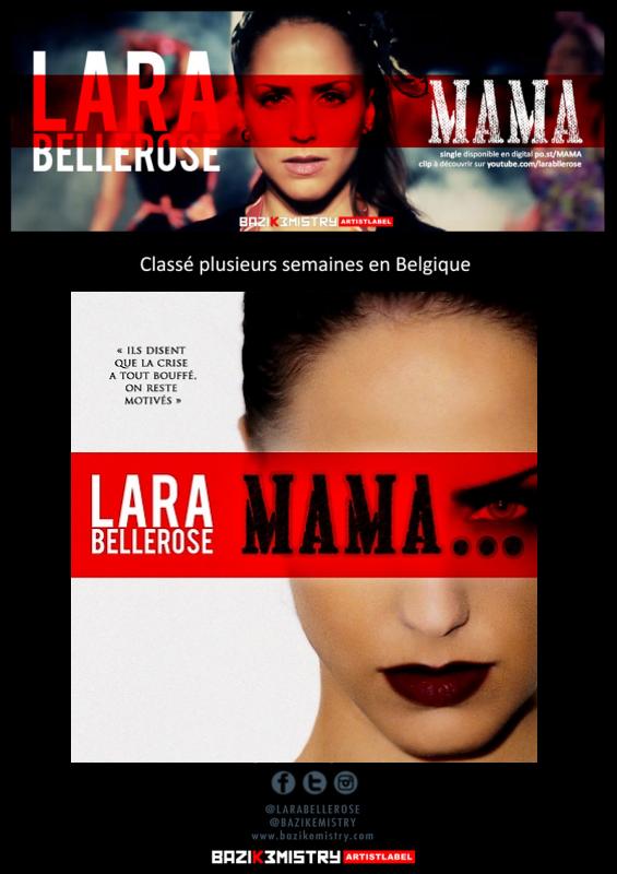 "BES  PRESENTE : Le dernier titre de LARA BELLEROSE - ""MAMA"""