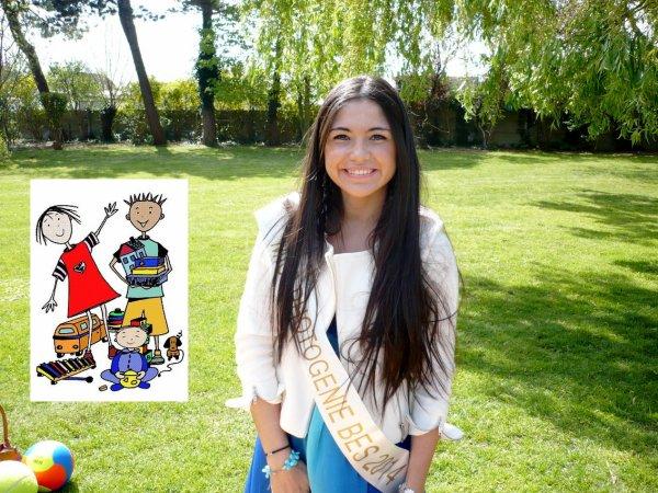 """Assia : """"Miss Photogénie BES"""" 2014, remet les jouets du coeur aux enfants"""