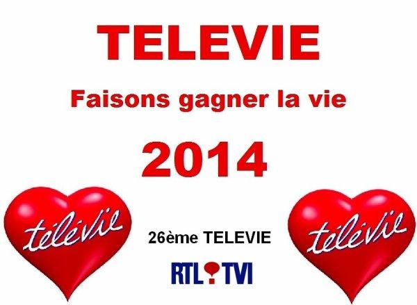 TELEVIE 2014 - Tous les records sont battus : 9.027.731 ¤ récoltés !!!