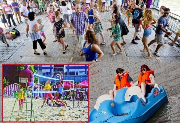 """""""Bruxelles les Bains"""", vive l'été à Bruxelles !!! 12ème édition : du 04.07 au 10.08.2014"""