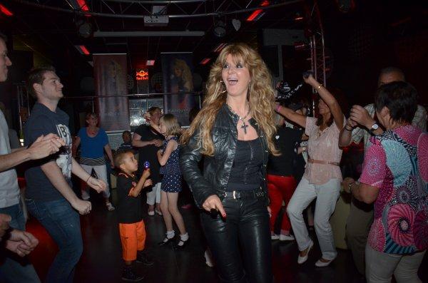 Immense succès pour la soirée BES : HANNY - D au FLASH BACK CLUB / 14.06.2014