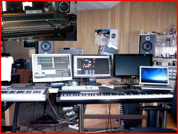 Comme Mai et Djoan l'an dernier, Philippe Leroy enregistrera fin juillet dans ce studio...