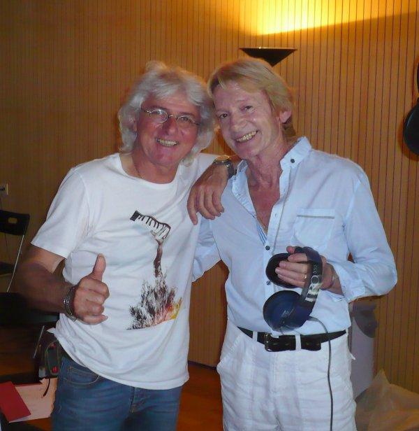 Enregistrement du CD de Philippe Leroy et soirée détente au FLASH BACK CLUB