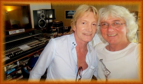 Photos d'ambiance de la journée d'enregistrement - (Philippe Leroy) - 26.07.2014