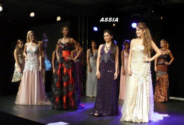 ASSIA : Du concours MISS BRUXELLES 2010 à MISS PHOTOGENIE BES 2014 !!!