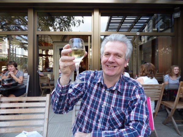 "En reportage à la ""Brasserie La Terrasse"", avec MAI PIERLOT, l'Ambassadrice de BES"