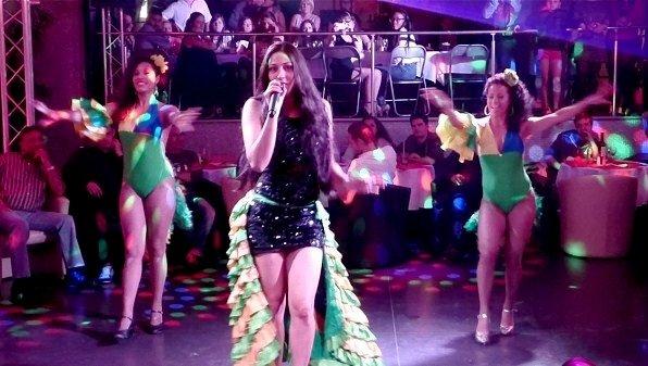 Soirée Brazil au Flash Back Club avec MAI Pierlot et ses danseuses - 04.10.2014