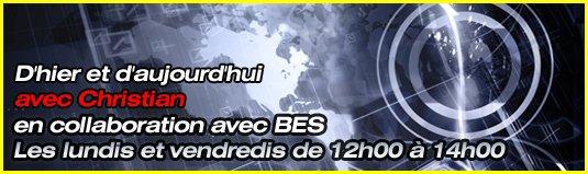 Vendredi 17.10.2014 émission spéciale à 12h00 sur GOLD FM - 10 ans de BES