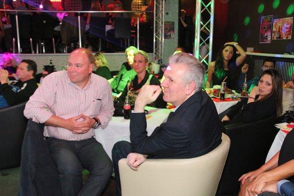 Big ambiance au show Philippe Leroy, alias Cloclo du 15 novembre au Flash Back Club