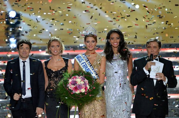 La gagnante de Miss France 2015 est Camille Cerf, Miss Nord-Pas-de-Calais