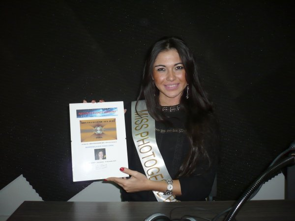 Merci à ASSIA - Miss photogénie BES 2014 - Une Miss d'exception !