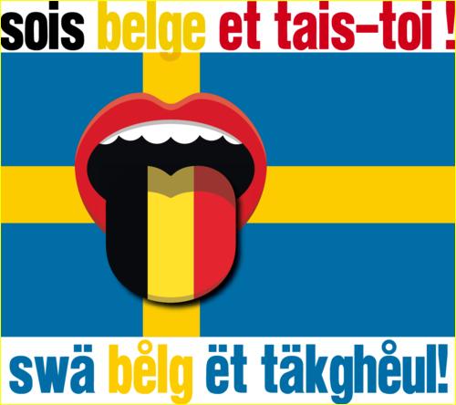 """Sois belge et tais-toi à la sauce suédoise dans : """"Les Etoiles de BES"""" - 17.12.2014"""