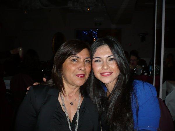 Soirée au BASILIC avec ASSIA et sa maman - 14.03.2015
