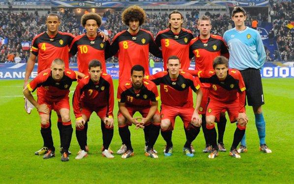 A ce jour 13.04.2015 - Nos Diables Rouges sont 3ème au ranking FIFA - Bravo l'équipe !