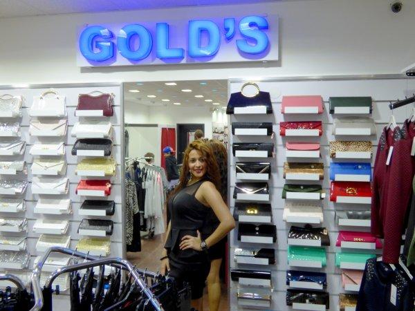 """Bienvenue chez """"GOLD'S"""" groupe / Radio - Musique / Bijoux / Vêtements / Sacs"""