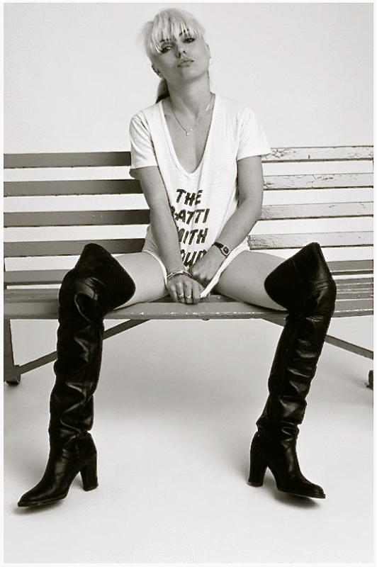 Le groupe Blondie et Debby Harry, le mythe des années 70 / 80