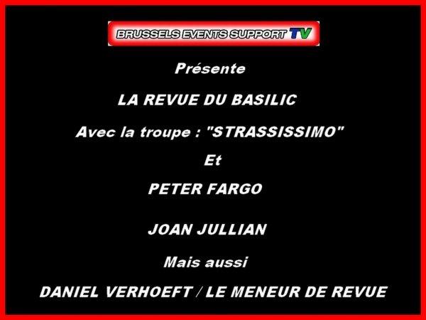La revue du Basilic : Ambiance, Strass et Paillettes...