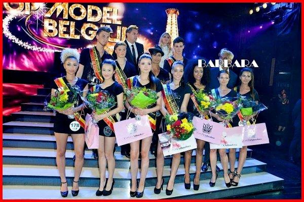 TOP MODEL BELGIUM 2015 - Barbara Hellemans est lauréate...