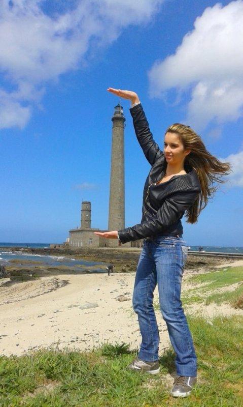 Ophélie la jeune française de 23 ans championne de nos jeux sur GOLD FM !!!