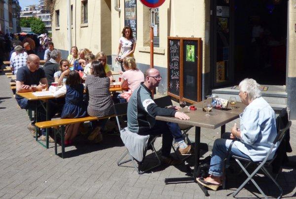 """Braderie de GANSHOREN (1083 Bruxelles) - Second jour avec """"LE KITCH"""" - 24.05.2015"""