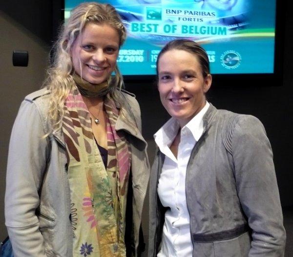 Kim Clijsters à nouveau victorieuse à Roland Garros - Trophée des légendes 2015