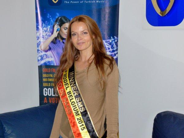 "Barbara Hellemans : Winner ""TOP MODEL BELGIUM 2015"" - Sur GOLD FM"