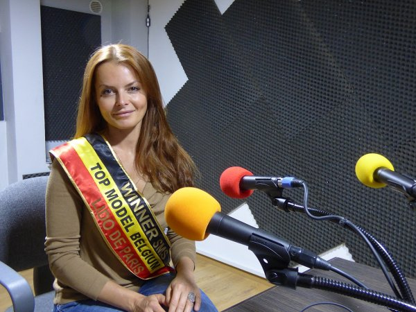 "Barbara Hellemans : Winner ""TOP MODEL BELGIUM 2015"" - Sur GOLD FM"