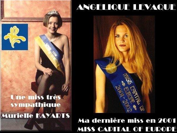 BES SOUVENIRS : MISS REGION BRUXELLES-CAPITALE 1997 / 2001