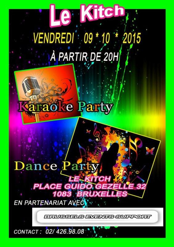 KITCH ACTU - Karaoké / Dance Party ce 09 octobre dès 20 heures avec aussi NICO