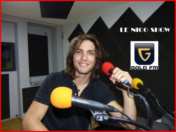 Lundi 09 novembre - 10ème Nico Show - Emission spéciale sur GOLD FM
