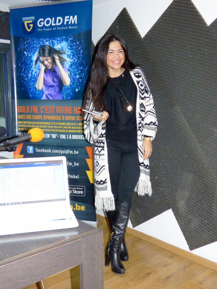 Assia à GOLD FM ce 27 novembre : Son grand retour !