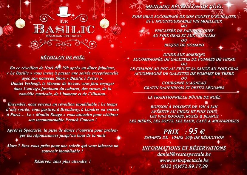 Les fêtes au BASILIC et au PLANET BRASIL - UN MUST !!!