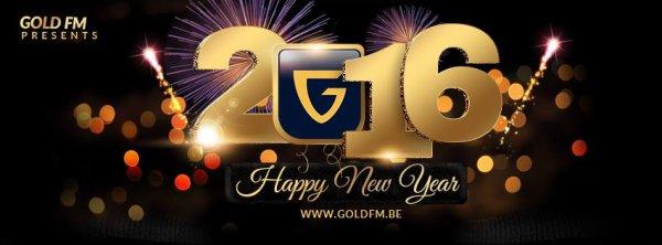 Meilleurs voeux de GOLD FM pour une belle année 2016 !