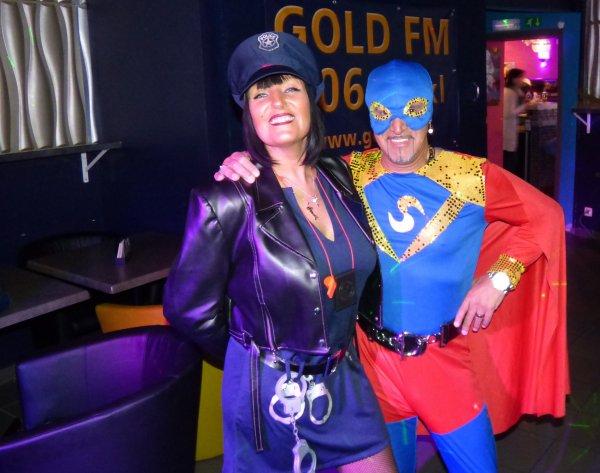 Soirée carnaval au KITCH, une belle soirée... 12.02.2016 avec GOLD FM et BES