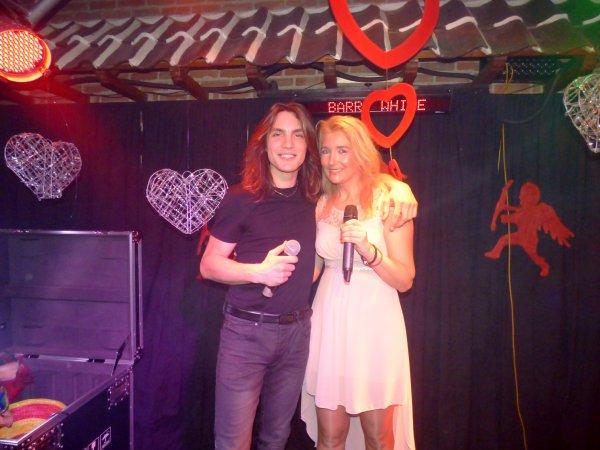 """Spectacle spécial """"Saint-Valentin"""" avec Nico et Valérie au Barry White à Tournai"""