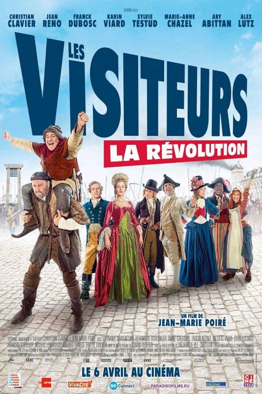 Les visiteurs sont de retour dès le 06 avril au cinéma
