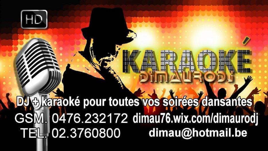 Besoin d'une soirée KARAOKE réussie, DJ DIMAURO est le meilleur !!!