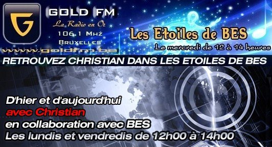 Sacha en promotion sur GOLD FM avec : Pour en arriver là - Reprise de Dalida