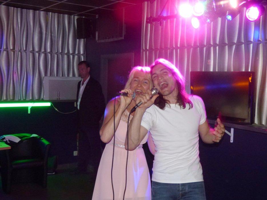 Grand Nico show au KITCH ce 10 juin - Nico di Santy et Valérie Bodart