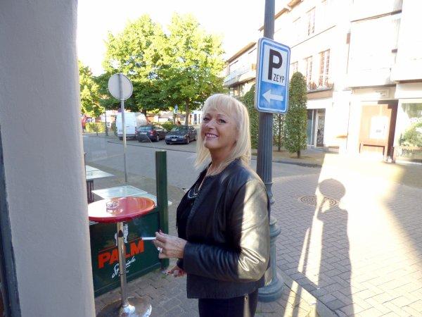 Ma s½ur jumelle Brigitte au KITCH - 02.07.2016
