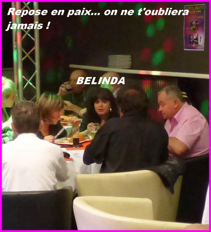 Adieu Belinda !