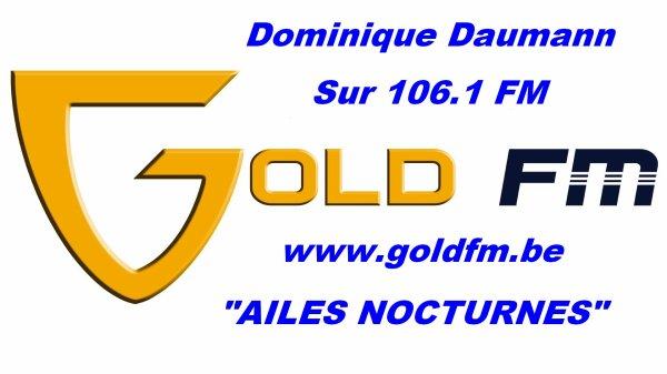 BES présente DOMINIQUE DAUMANN en promo sur GOLD FM - CD SOLO !