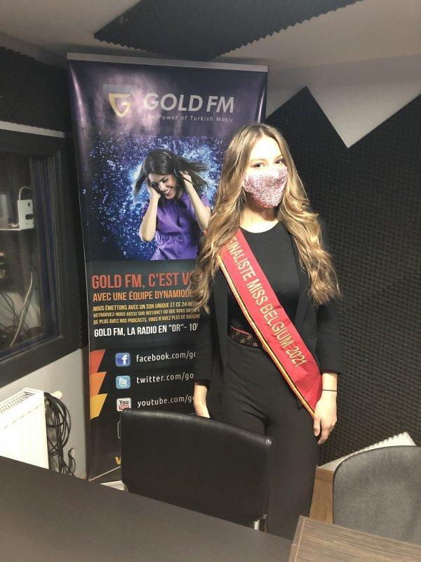 BES soutient Emilie Brismé - Finaliste Miss Belgique 2021
