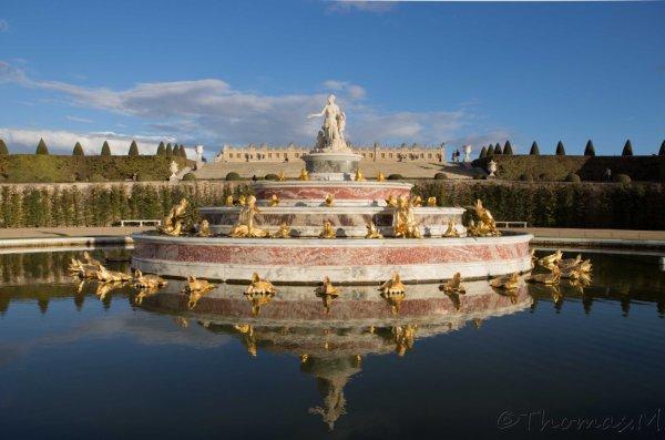 Dans les jardins du château de Versailles