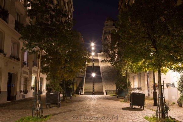 En haut de Paris