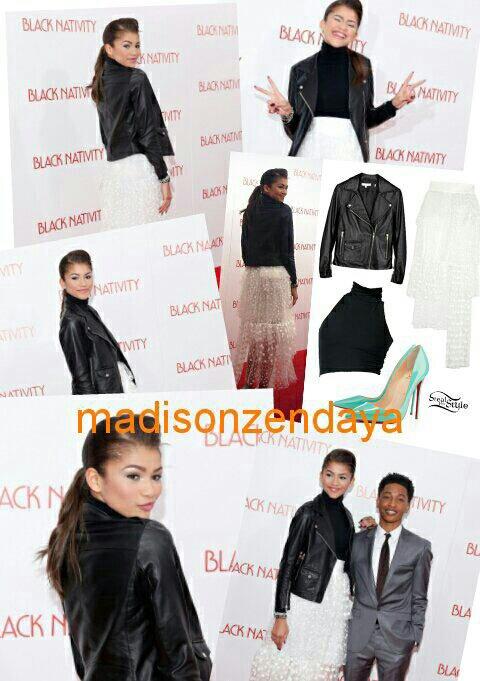 Zendaya au Black Natmiti + photoshoot inconnu + Dress Like :) Zendaya est Juste MAGNIFIQUE !!!!