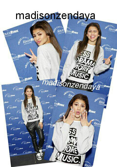 Zendaya - VEVO Stylized + Zendaya au Blue Cross RiverRink + Dress Like Zendaya Stylized