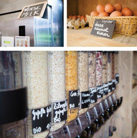 Un 'supermarché' sans emballage
